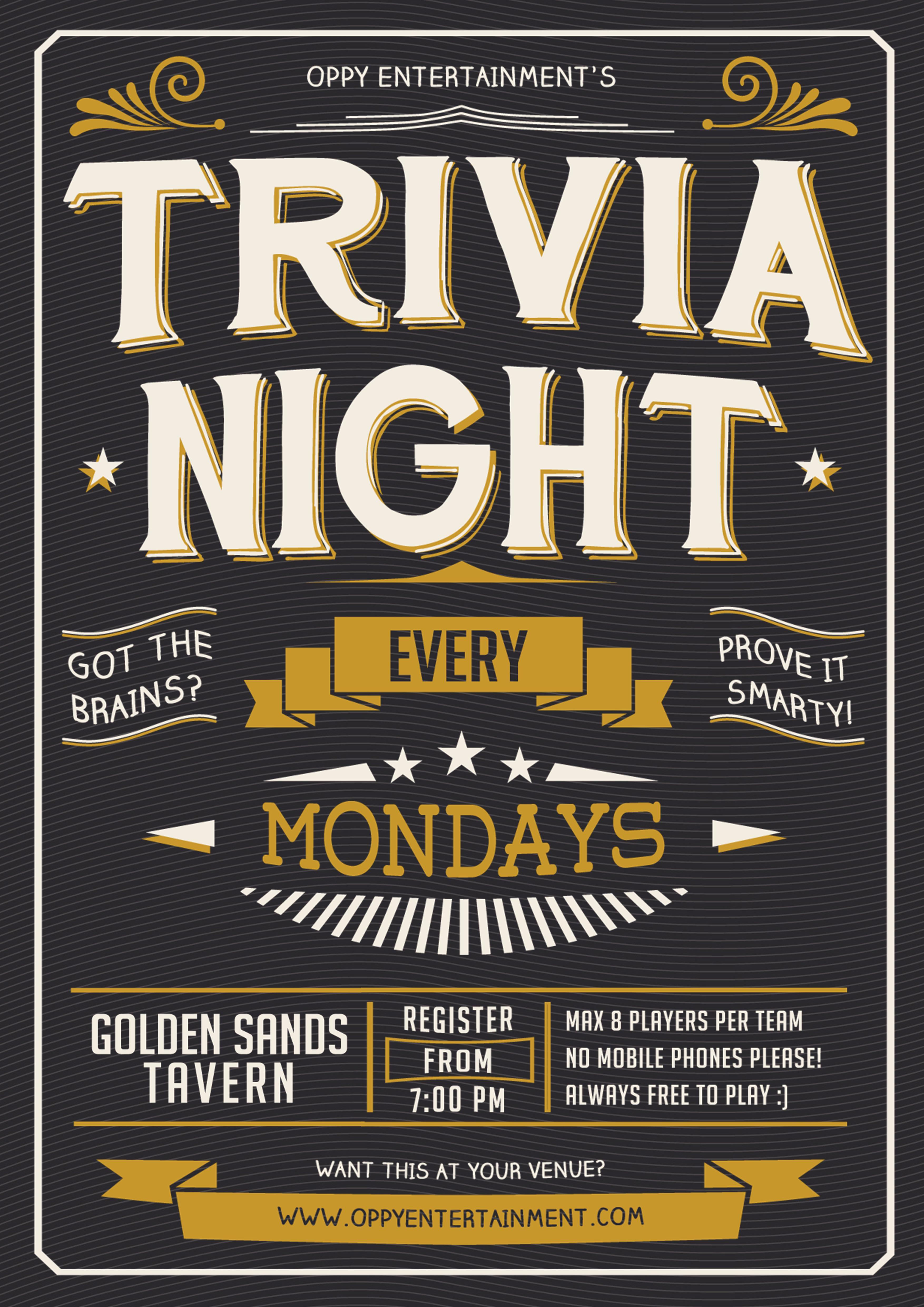 trivia flyer - Ideal.vistalist.co